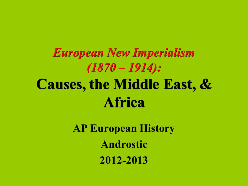 """the problems caused by european imperialism Africa: imperialism and the present • 313 another work, basil davidson's """"black man's burden africa and the curse of the nation-state,"""" depicts the european process."""