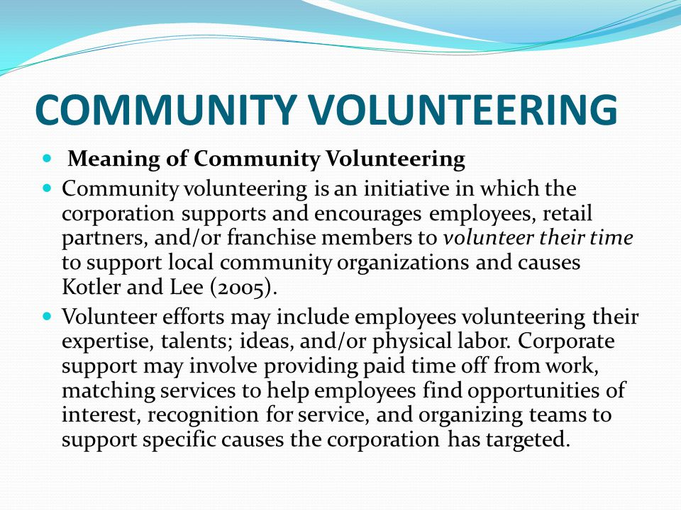the meaning behind community service Service to humanity and a commitment to a deeper level of engagement with each other and the problems of society are key motivating forces behind the bahá'í community as bahá'u'lláh has written.