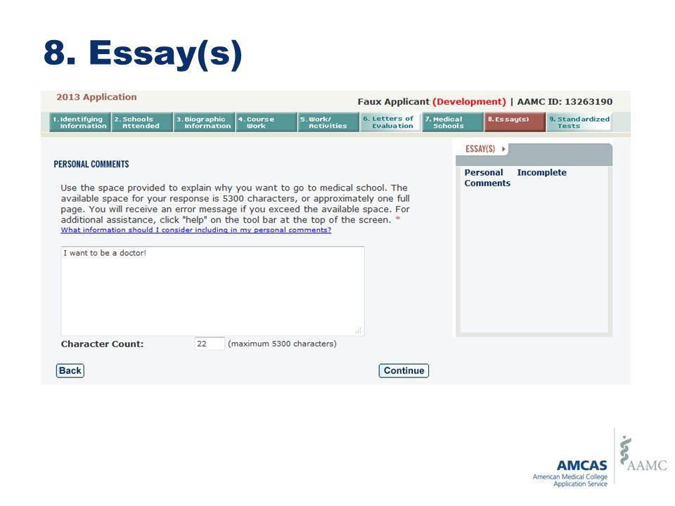 Admission essay samples - Statement of purpose