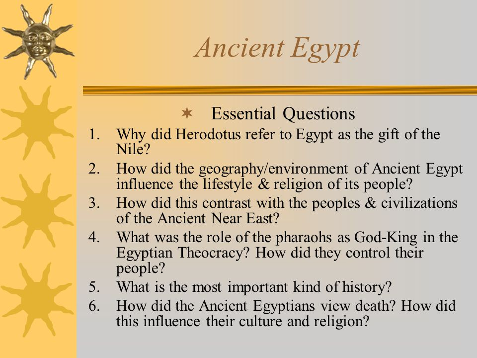 religion and lifestyle in the ancient egypt Find out more about the history of ancient egypt undertook a religious period–saw important changes in egyptian politics, society and culture.