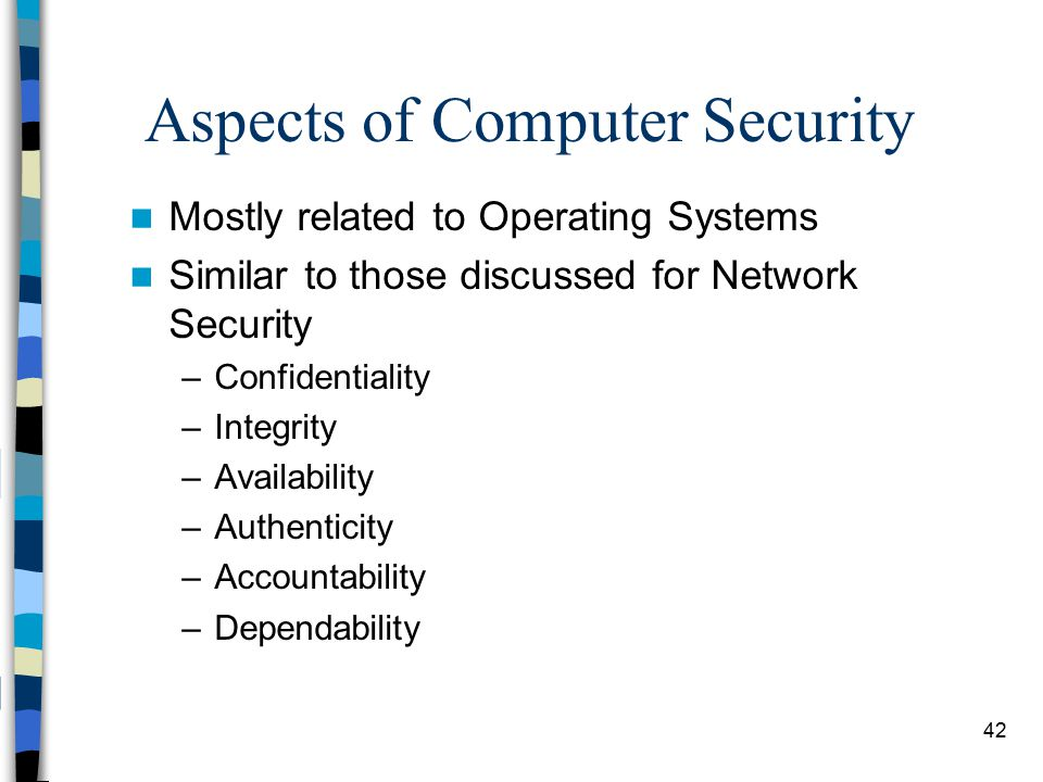 computer security and network security pdf