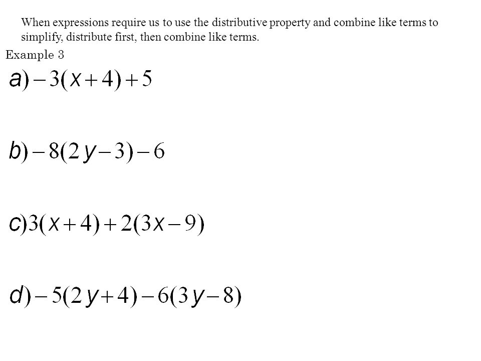 combining like terms and distributive property worksheet Termolak – Distributive Property Worksheets Pdf