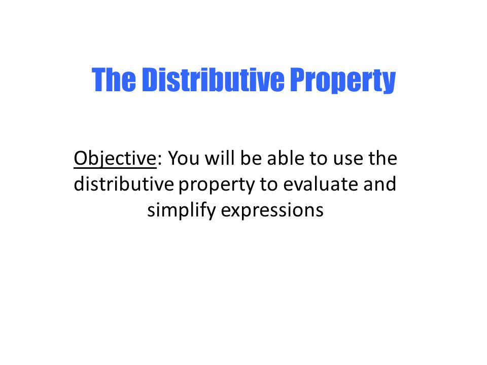 Distributive property and combining like terms answers