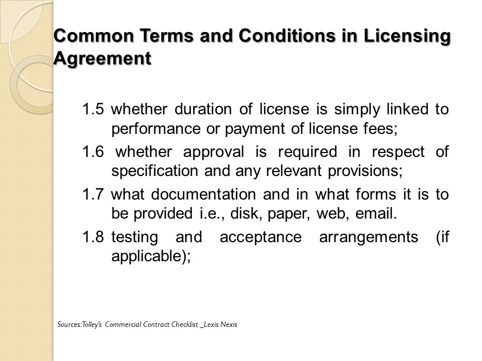 Licensing franchising in malaysia ppt download common terms and conditions in licensing agreement platinumwayz