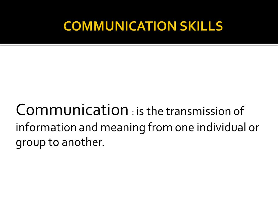 strategies to promote group and individual communication Transfer of learning to the workplace brenda s gardner and sharon j korth abstract: organizations have frequently expressed the need for employee s who can  individual and group feedback ,  newstrom, 1992) follow-up communication and follow-up sessions can also help by providing an opportunity for support networks.