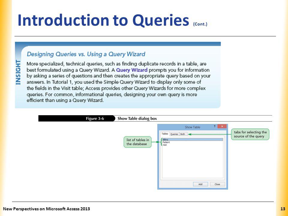 access database tutorial 2013 pdf