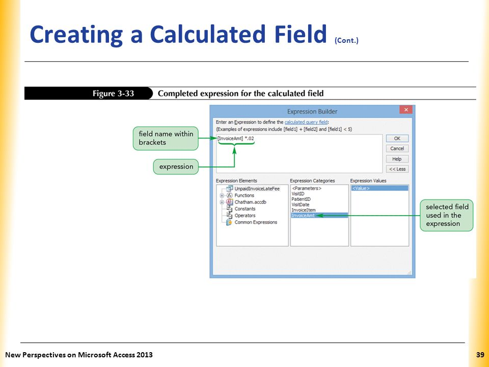 how to create a database in access 2013 ppt