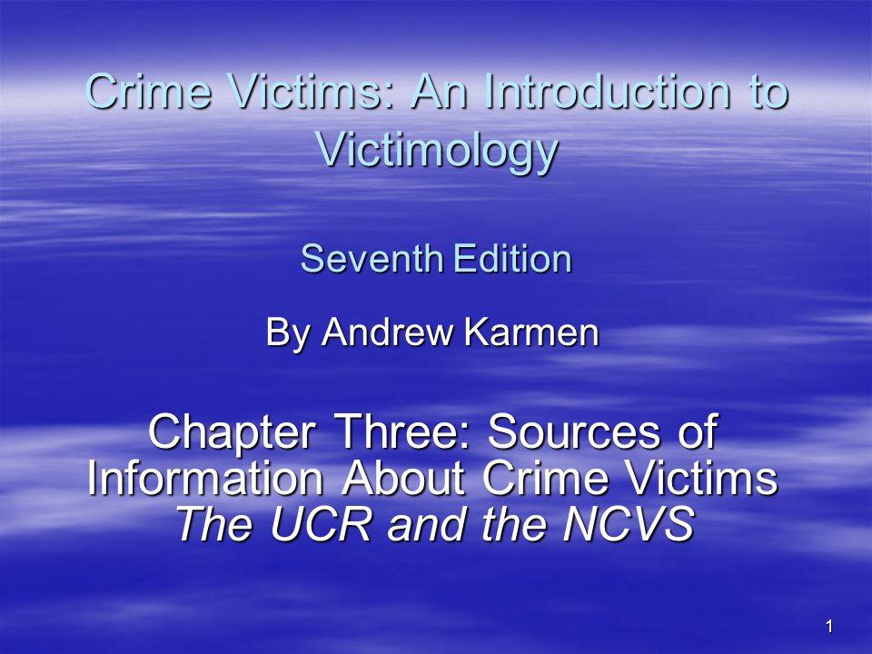 karmens theory of victimization