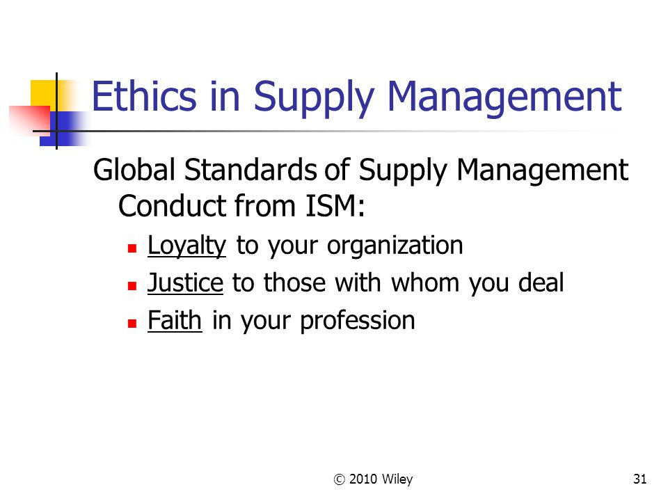 ethical issues in supply chain Trust issues in supply chain management robert a schultz abstract when corporate boundaries become blurred, as they are in contemporary supply chain management, distinctive ethical issues arise in a traditional market situ - what is the ethical basis for this difference supply chains.