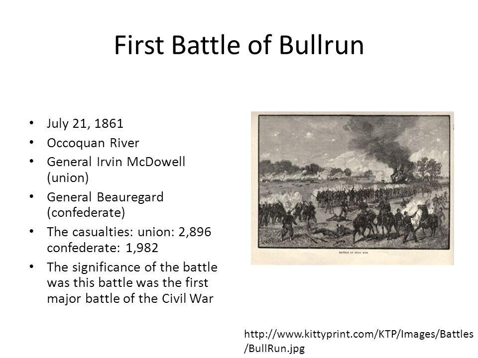 civil war battle of bull run