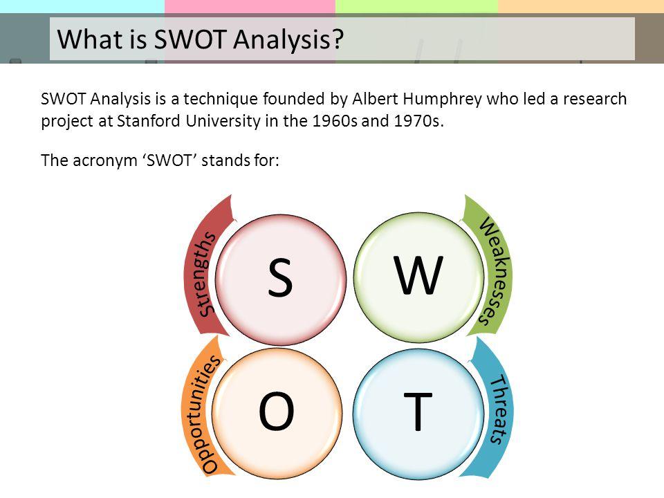 swot analysis 15 essay