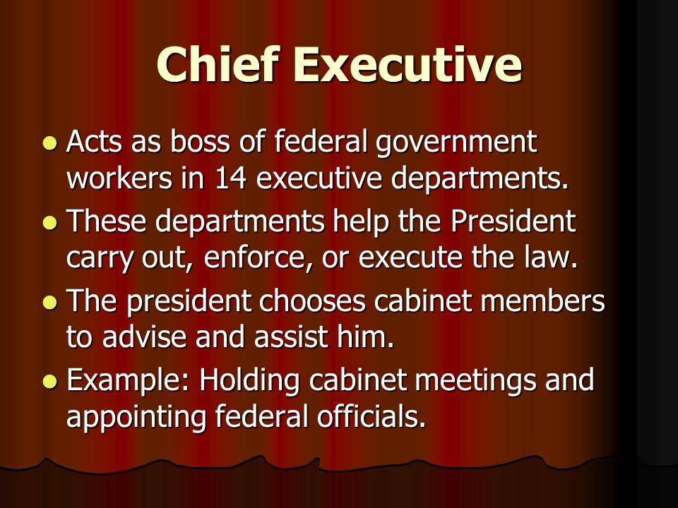 PRESIDENTIAL HATS 8 roles of the job - ppt video online download