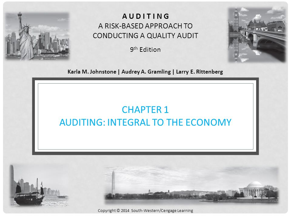 solutions for chapter 1 auditing integral to the economy True 4chapter 1: auditing: integral to the economy key 1 the center for audit quality has the primary authority to set auditing standards a.