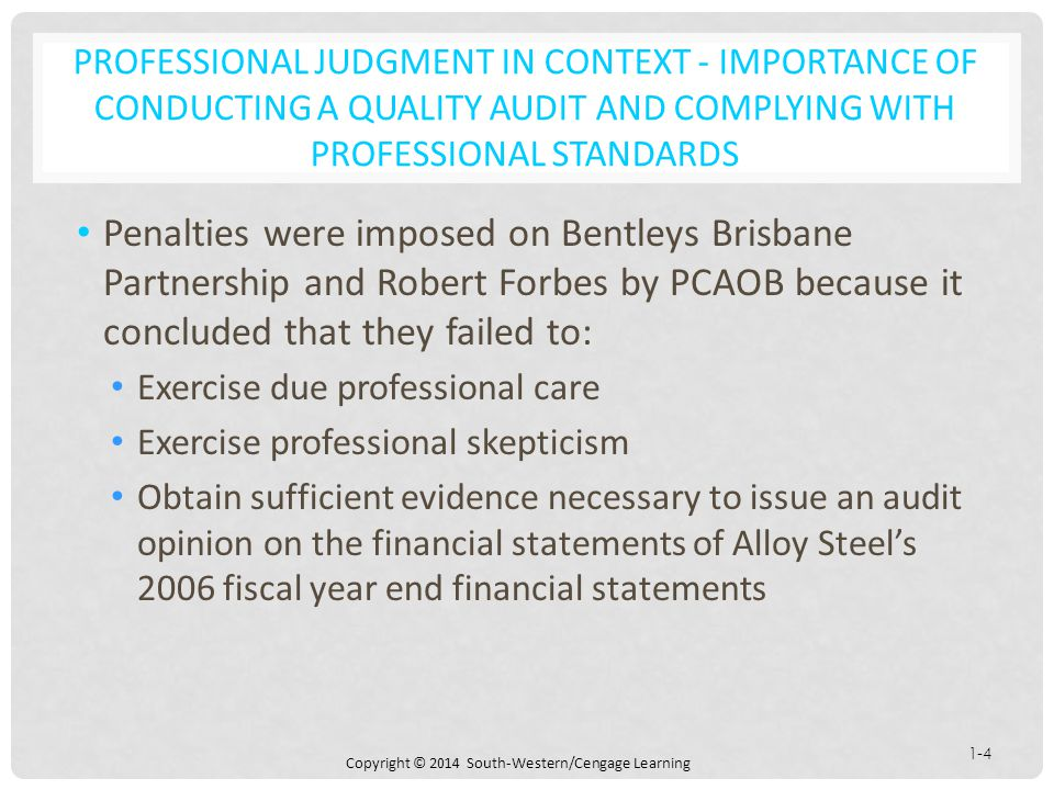 the importance of professional standards Faculty of engineering standards for professional behaviour it is the responsibility of all members of the faculty of engineering, students, staff and faculty.