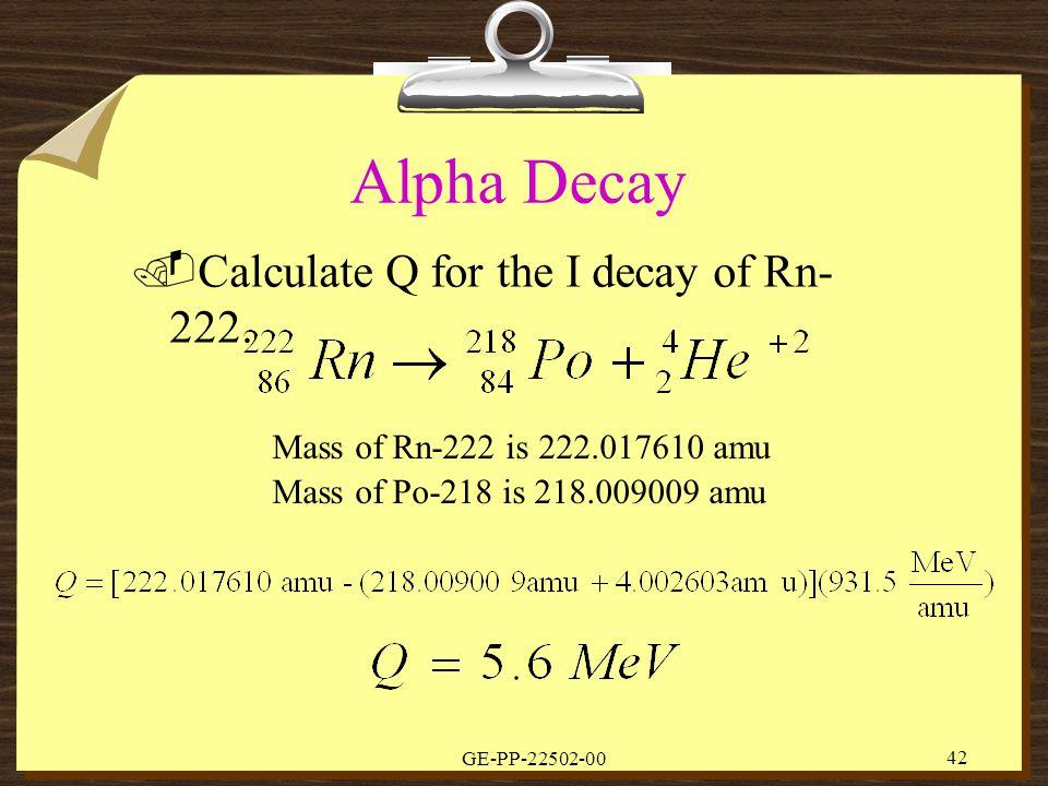 modes of radioactive decay pdf