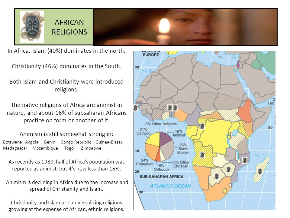 african religion and its influence on The impact of religion on for many of the same reasons that the direct influence of ethnicity and networks in african trade, contributions to.