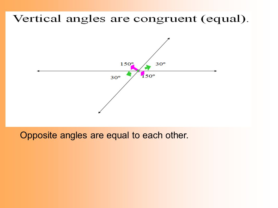 worksheet Adjacent And Vertical Angles Worksheet all types of angles angle name description picture clue ppt download 12 opposite are equal to each other