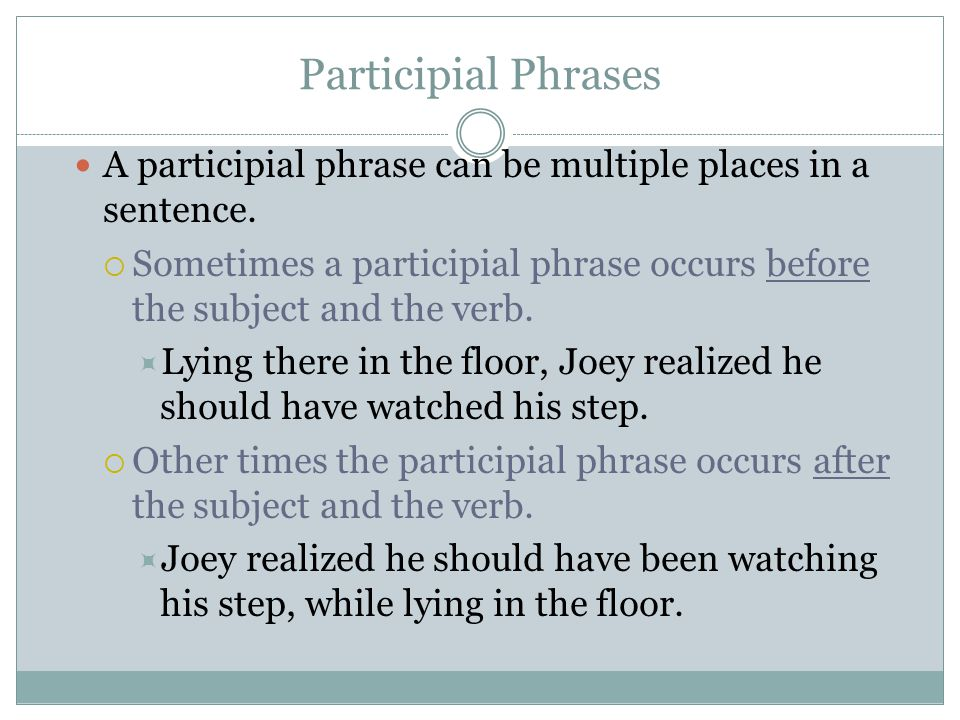 Parts of sentences unit ppt video online download for Sentence of floor