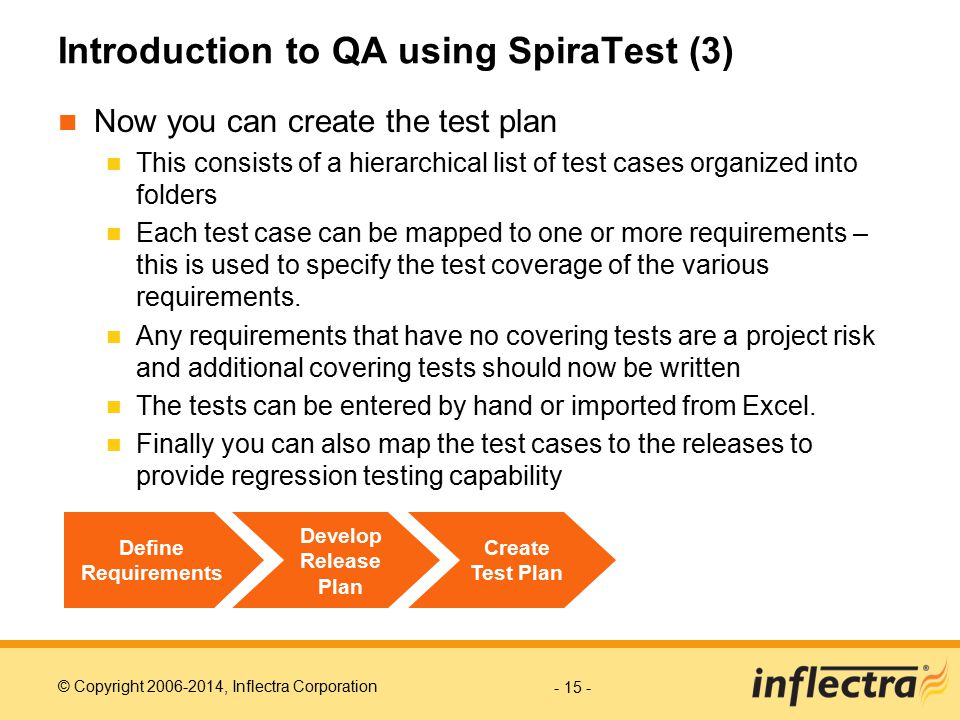 Introduction to QA using SpiraTest (3)
