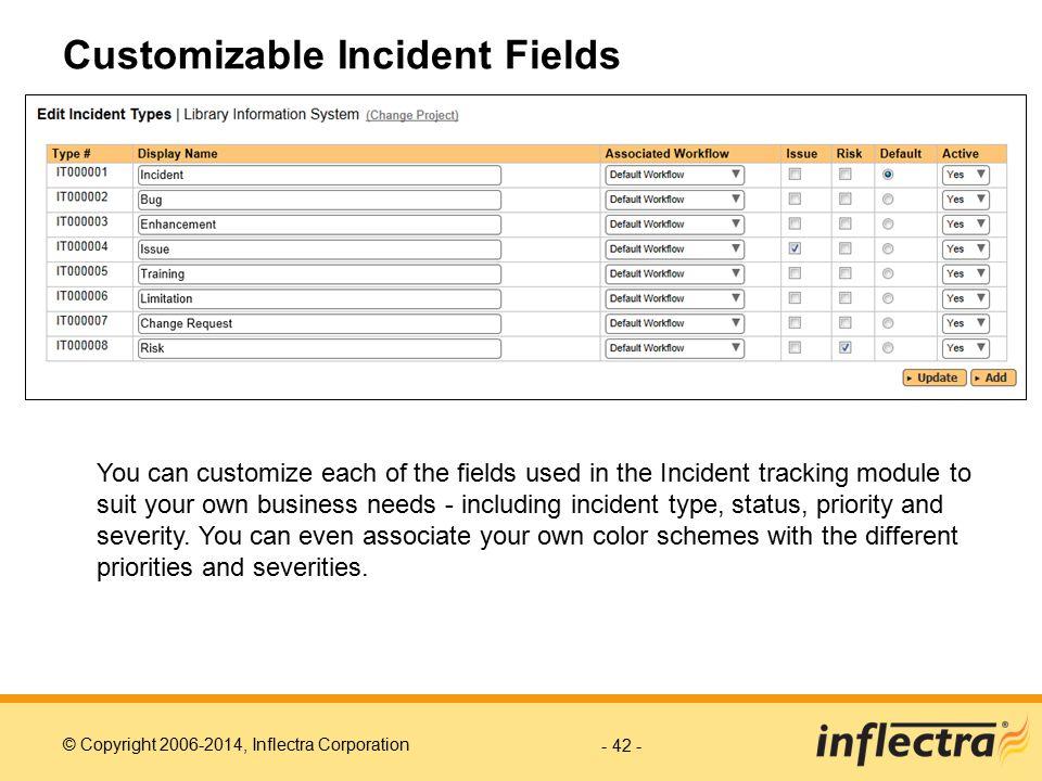 Customizable Incident Fields