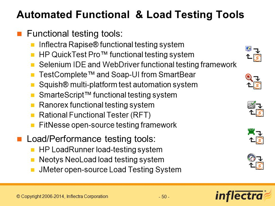 Automated Functional & Load Testing Tools