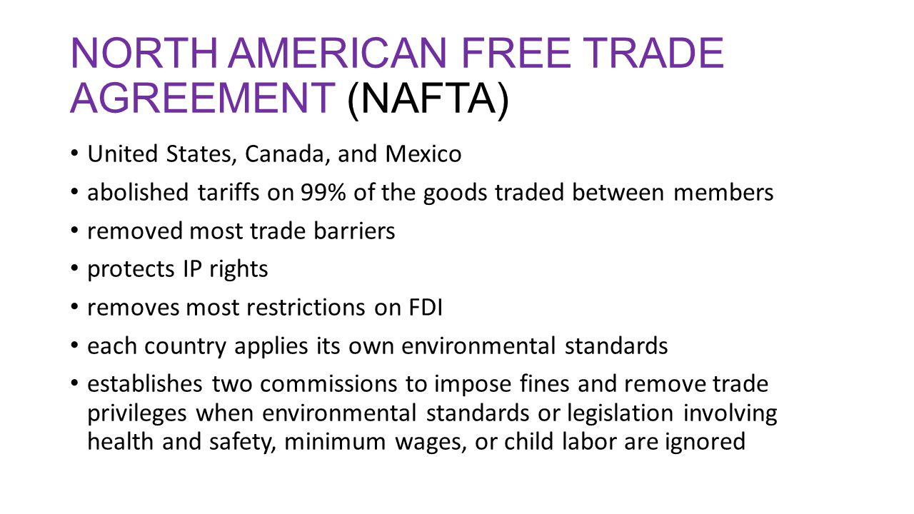8 Pros and Cons of NAFTA