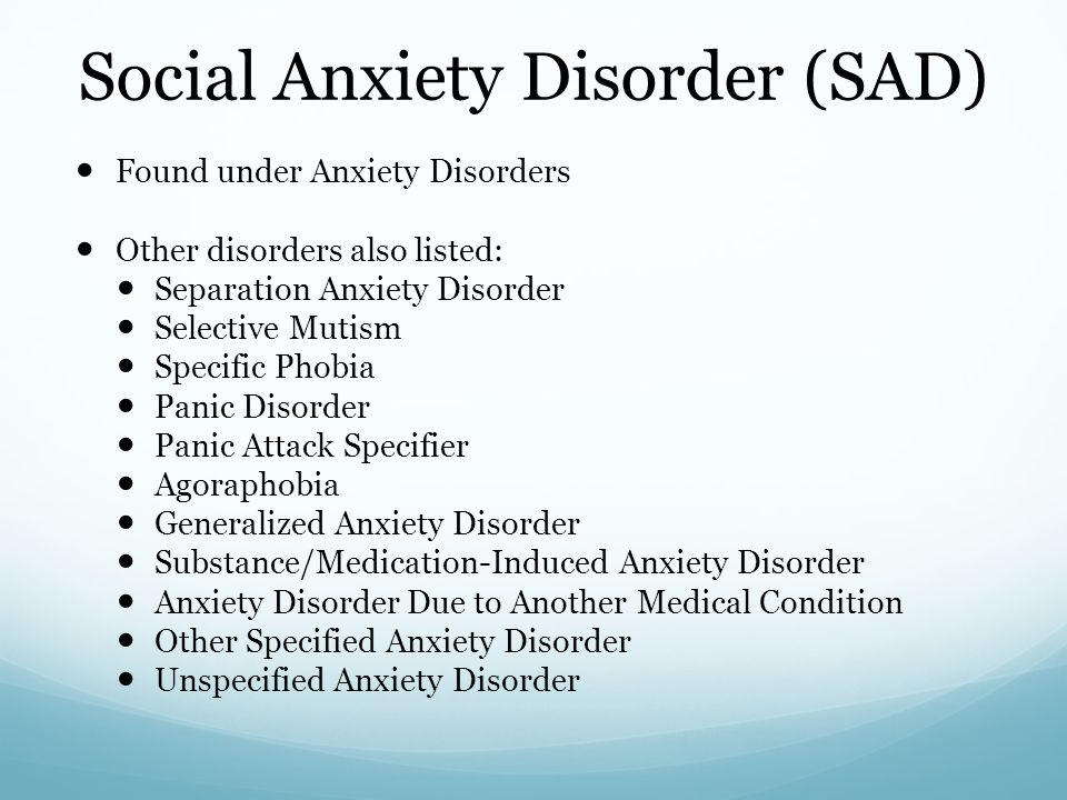 a paper on generalized anxiety disorder Generalized anxiety disorder is common among patients in primary care affected patients experience excessive chronic anxiety and worry about events and activities, such as their health, family, work, and finances.