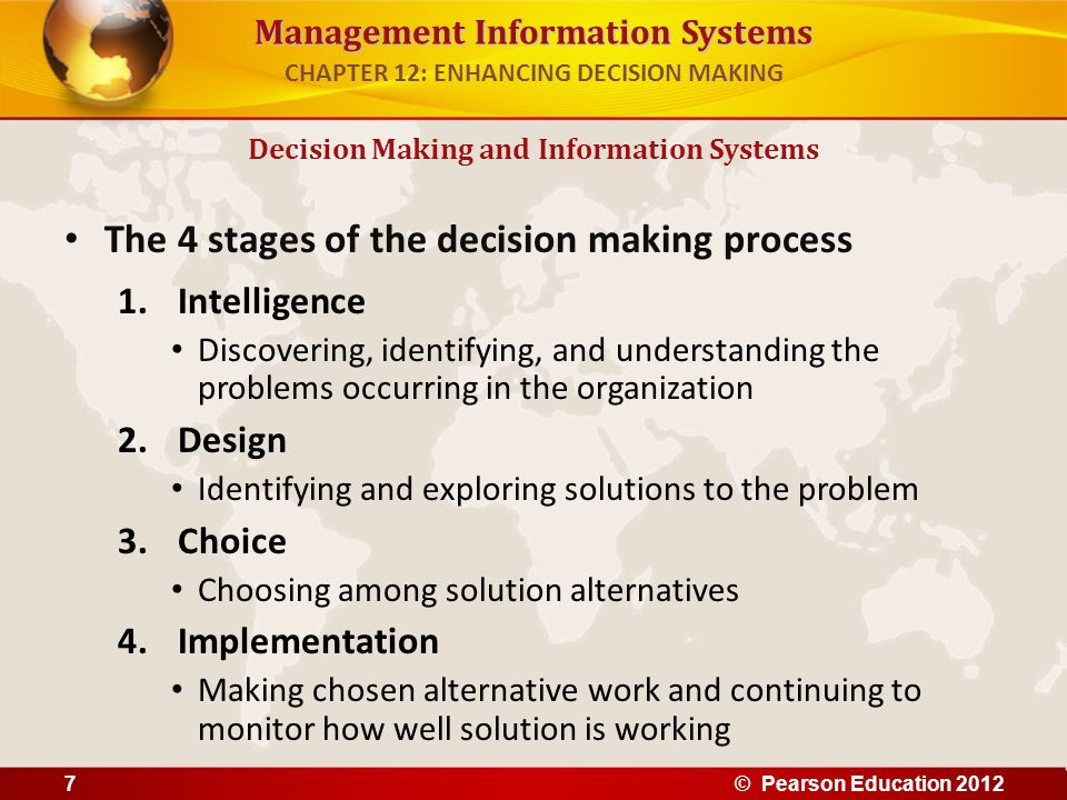 CHAPTER 12: ENHANCING DECISION MAKING