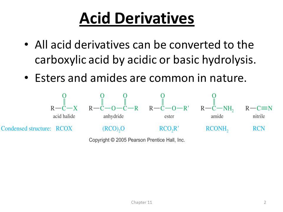 ester is acid or base