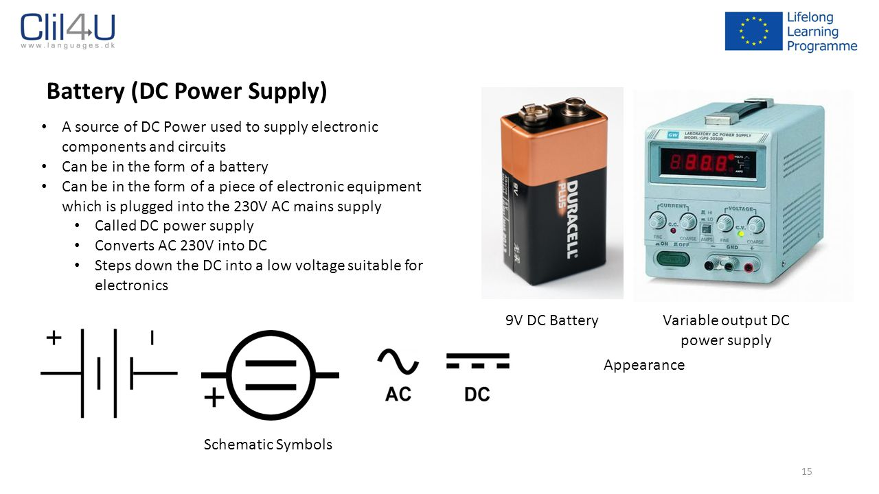 Variable output DC power supply
