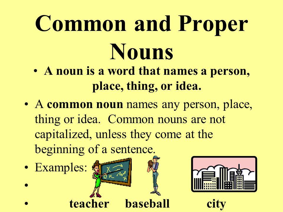 nouns.png (894?667) | WORKSHEETS | Pinterest | Proper noun ...