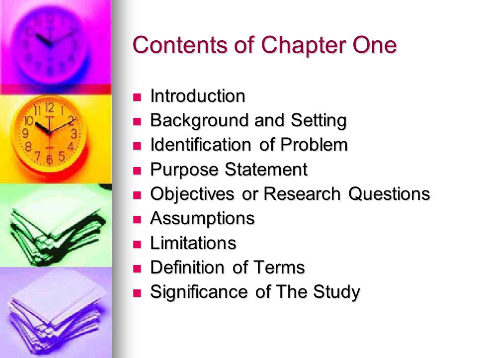 thesis chapter one introduction 2018-3-24  paginate your thesis or dissertation  iv, etc) on all pages preceding the first page of chapter one  etc) start at chapter one or the introduction,.