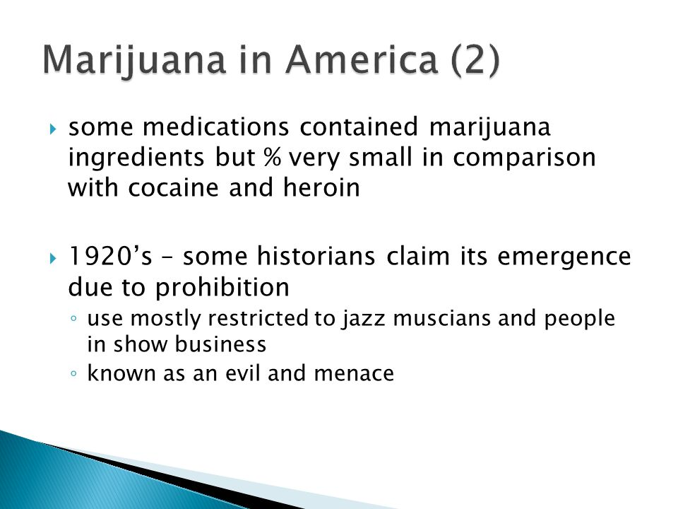 the prohibition of heroin lsd and marijuana in the united states Marijuana remains the third most popular recreational drug of choice in the united states despite 60 years of criminal prohibition according to government figures, nearly 70 million americans have smoked marijuana at some time in their lives.
