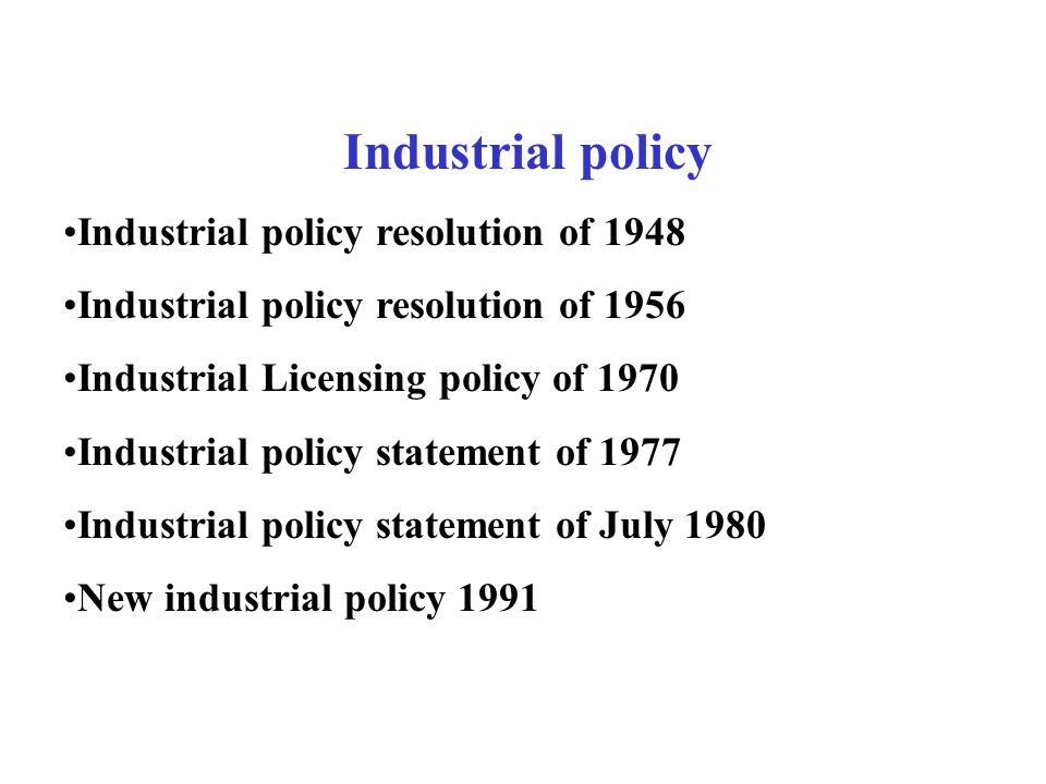 impact of the new industrial policy initiated in 1991 in india Advertisements: the following points highlight the four major economic reforms under new economic policy of india since 1991 reform 1# de-reservation of industries of the public sector: the new industrial policy 1991 has been adopted under which far-reaching structural reforms have been initiated to lift excess direct controls and regulations on industries and to ensure [].