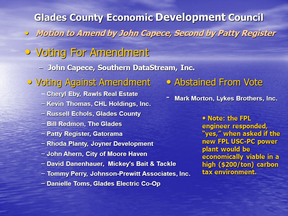 Glades County Economic Development Council