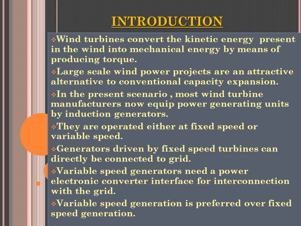 "an introduction to modern advances and applications of wind energy Interest in wind energy died and companies making small turbines folded introduction to micro hydropower 4 responses to ""wind power applications."