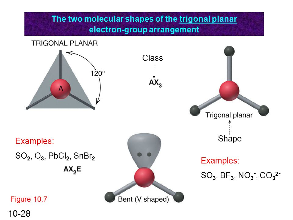 O3 Bond Angle: Chapter 10 The Shapes Of Molecules.