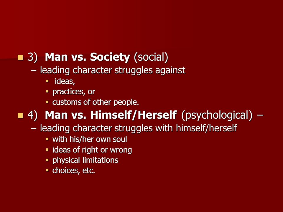 man vs himself The prototypical man vs mountain movie has it all: a really tall mountain,  avalanches, crevices, ropes, altitude sickness, buddies coming to each.