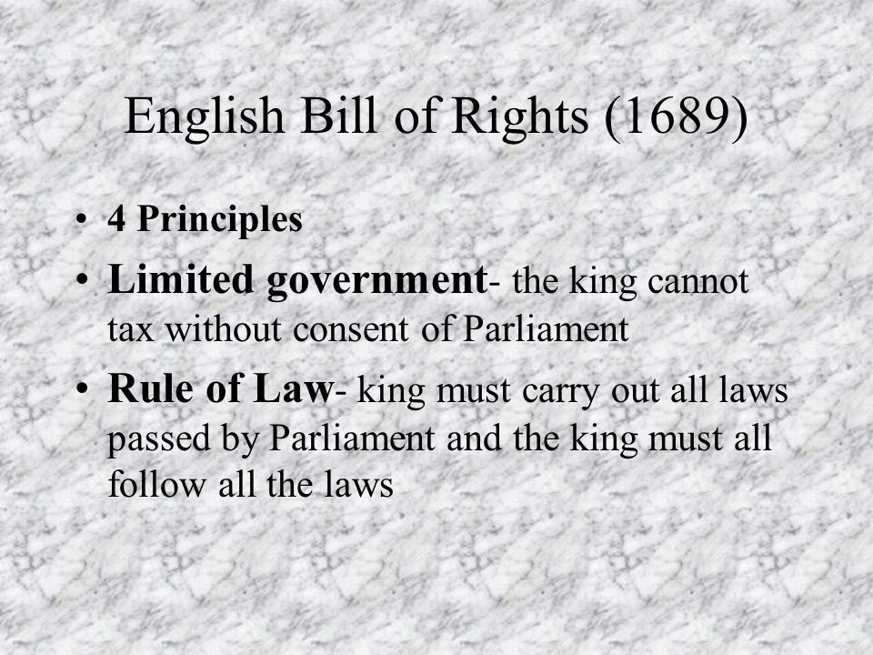 English Bill Of Rights 1689 Pictures