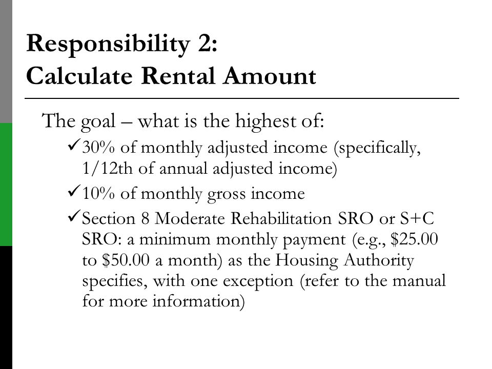 Responsibility 2: Calculate Rental Amount