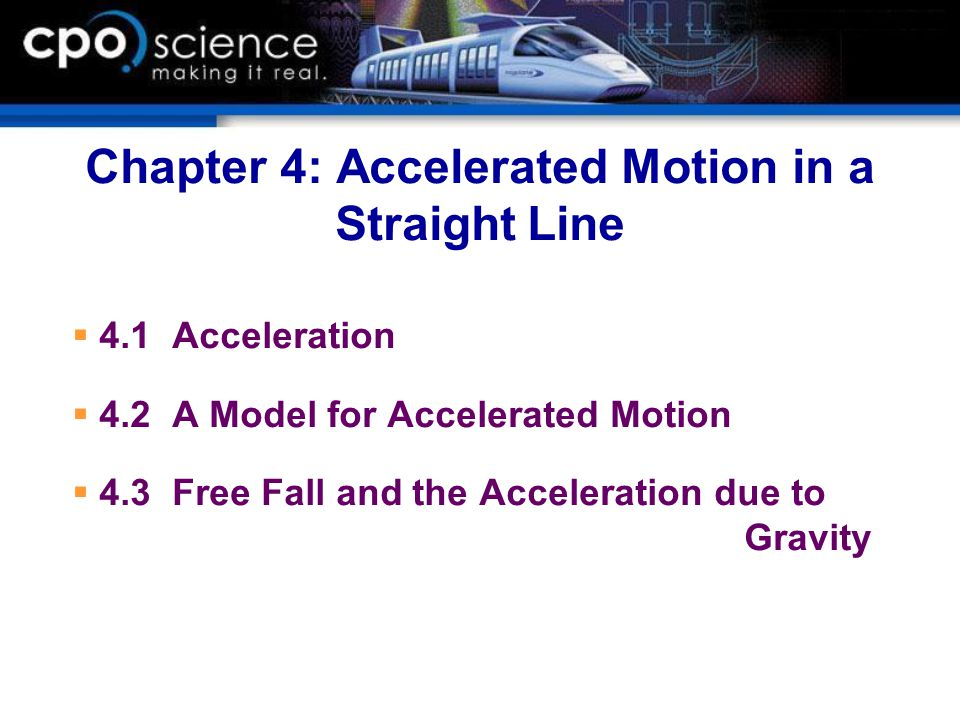 free fall and acceleration due to Acceleration of an object in free fall is commonly referred to as the acceleration due to gravity, and it is given the symbol g  the motion of such an object, starting from rest at the origin of our.