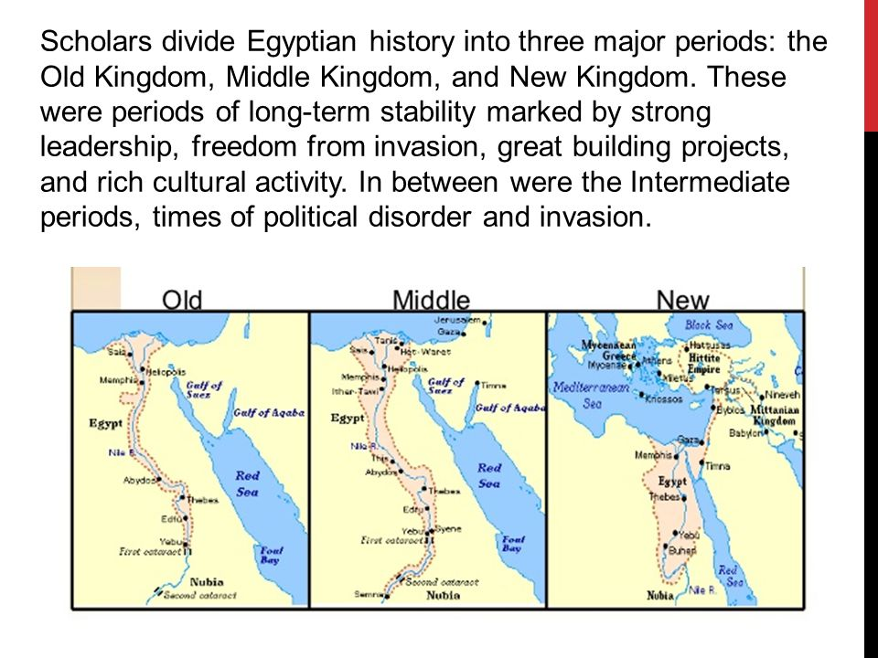 Egyptian Kingdoms Ppt Download - Map of egypt old kingdom
