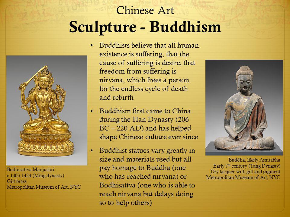 Chinese Art Sculpture - Buddhism