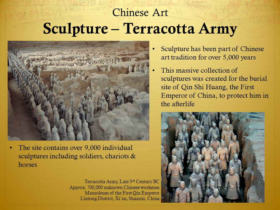 Chinese Art Sculpture – Terracotta Army