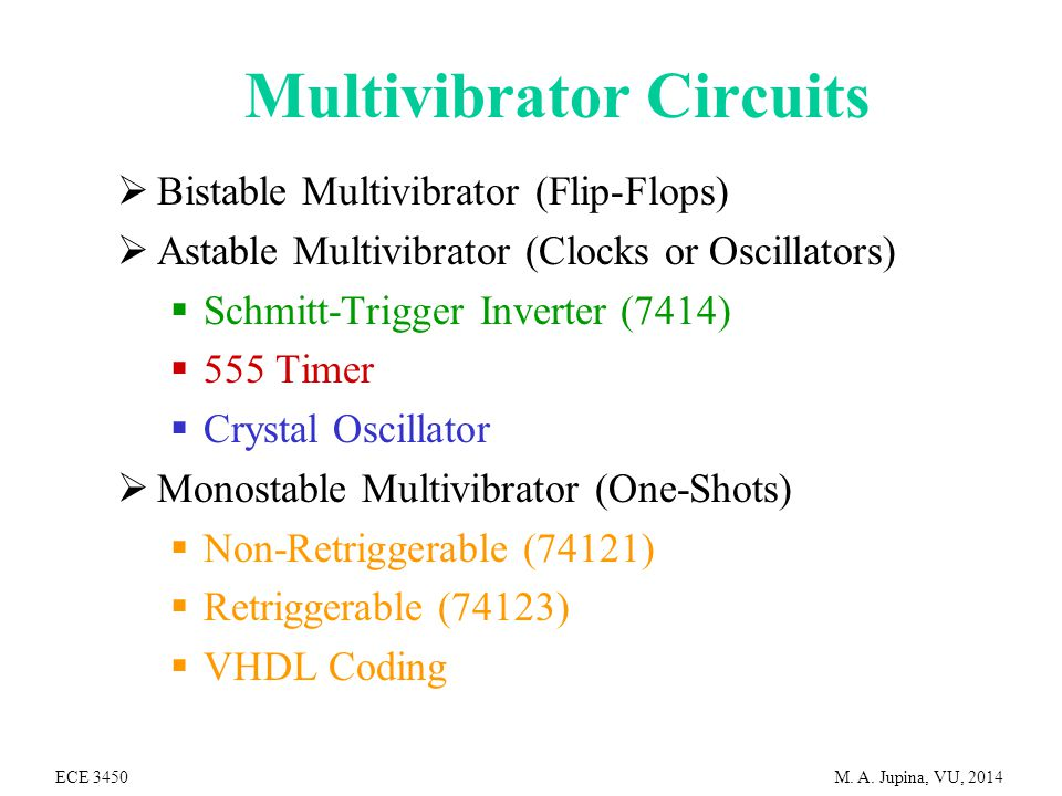 multivibrator circuits ppt video online downloadFrequency Meter For 10 Hz To 100 Khz Input By 74121 #18