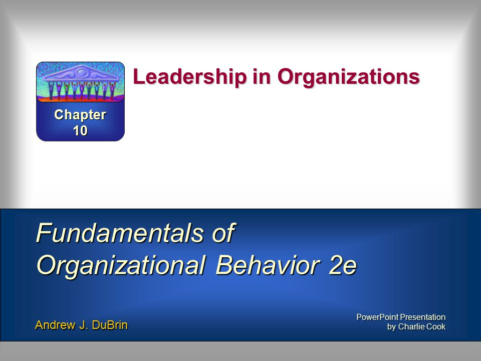 Leadership ppt presentation.