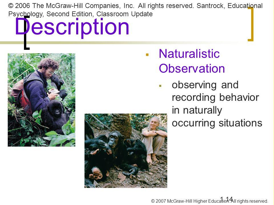 Naturalistic observation
