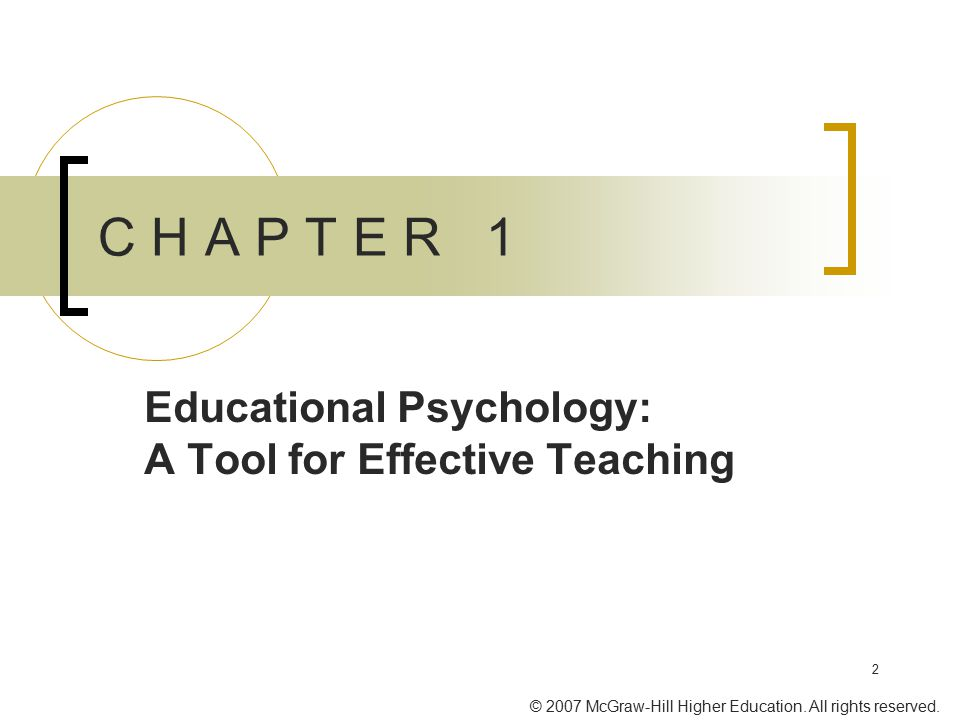 Educational Psychology: A Tool for Effective Teaching