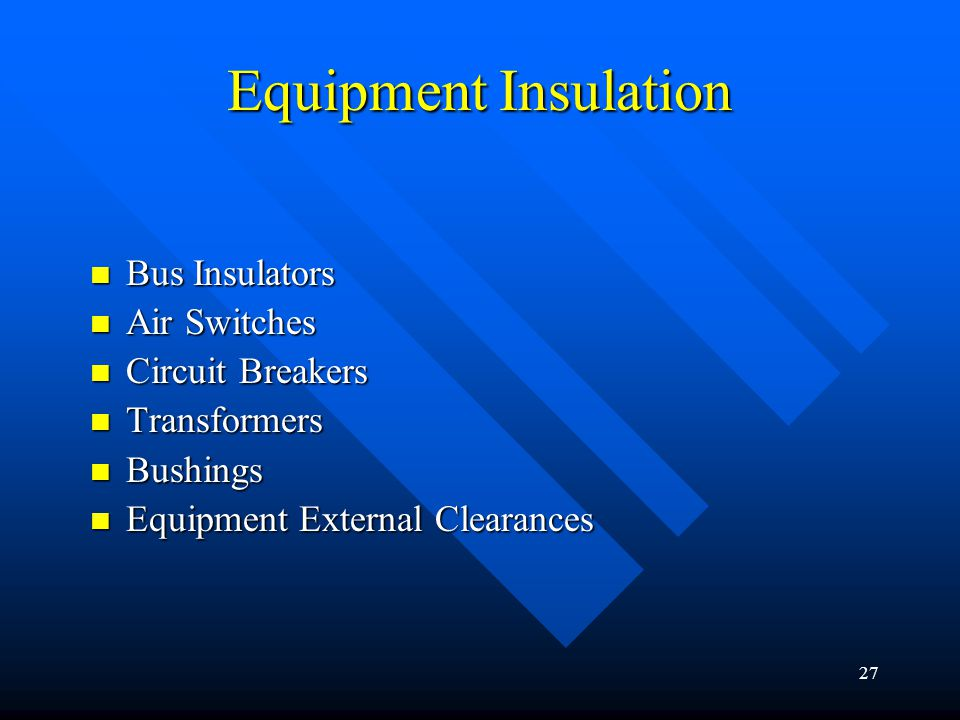 Insulation Coordination The Selection Of Insulation
