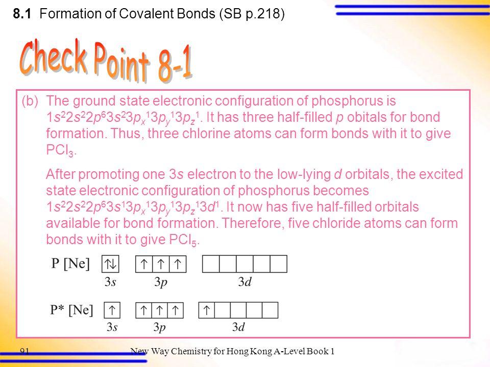 8 Covalent Bonding 8.1 Formation of Covalent Bonds - ppt download